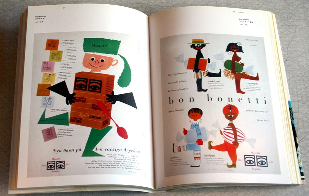 Bok om den svenska grafiska designern Olle Eksell