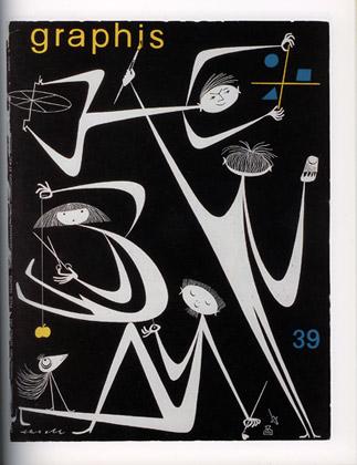 omslag av Olle Eksell till Graphis