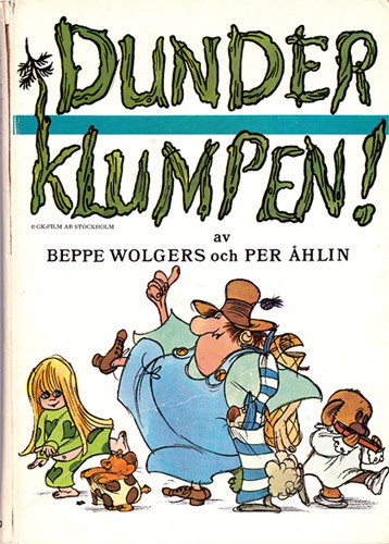 Book made from the movie Dunderklumpen