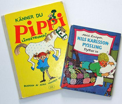 More children books by Ilon Wikland and Astrid Lindgren