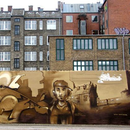 Köpenhamn graffiti