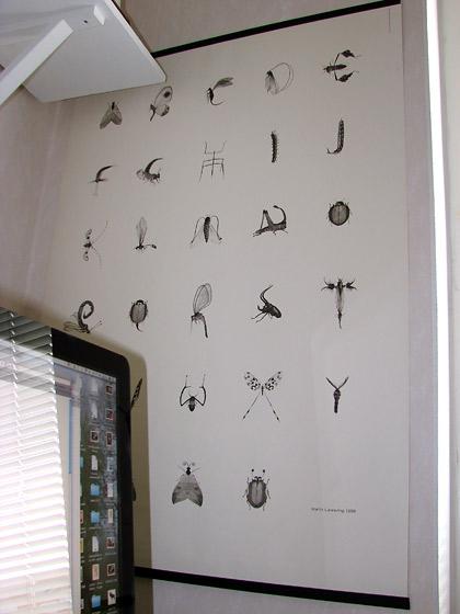 insekt alfabet av Martin Lannering 1998