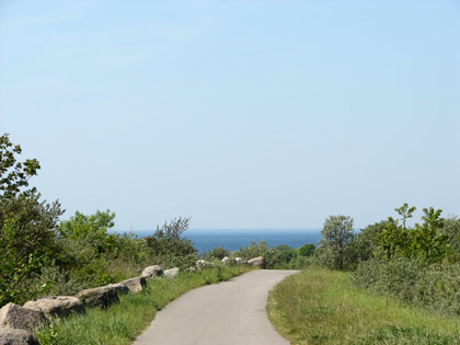 Bicycle tour round the Øresund Bridge