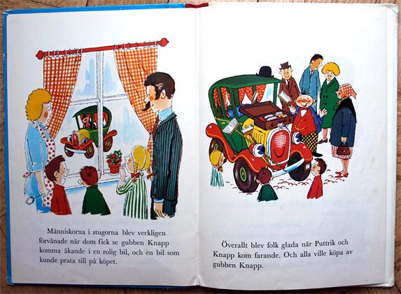 Barnboken Puttrik och gubben Knapp
