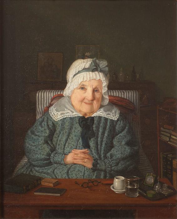 Målning av Amalia Lindegren