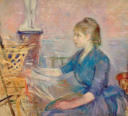 Berthe-Morisot_Paule-Gobillard-Painting_1887