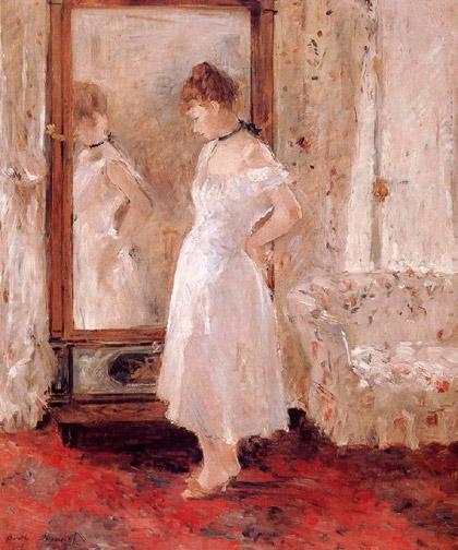 Berthe-Morisot_The-cheval-glass_1876