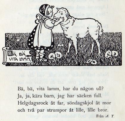 Vinjett teckning Gunhild Fachs