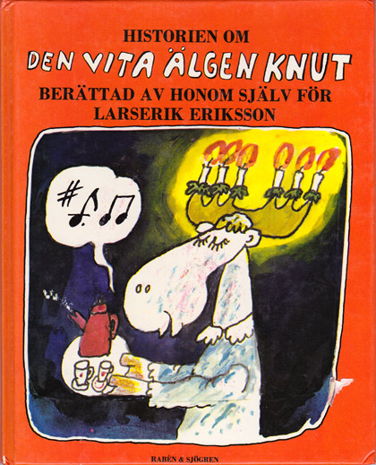 """70-talets barnböcker: """"Den vita älgen Knut"""""""