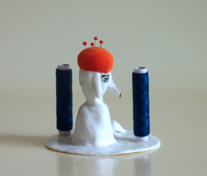 Wonderful quirky ceramics by Eleonor Boström