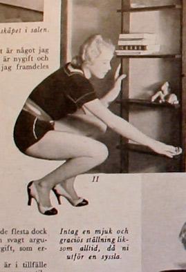 dammtorka roligt hemmafru tips 1939