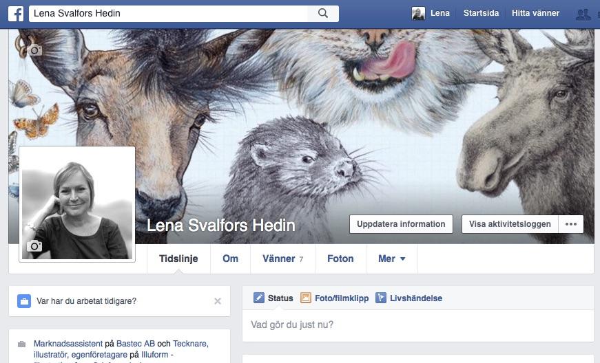Lena Svalfors Hedin på Facebook