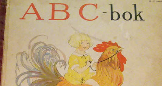 vintage swedish abc-book by Aina Stenberg-Masolle
