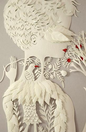 paper cutting artist Elsa Mora