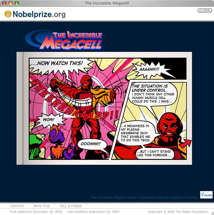 """Kunskapsspelet The Incredible Megacell vann guld i tävlingen """"Kolla!"""""""