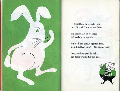 """""""Festen i Hulabo"""" illustrations by Helga Henschen"""