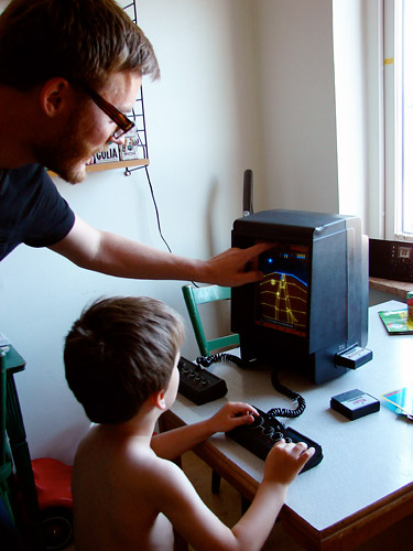 vector based home arcade system
