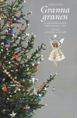 Book about Christmas tree decorations in Sweden