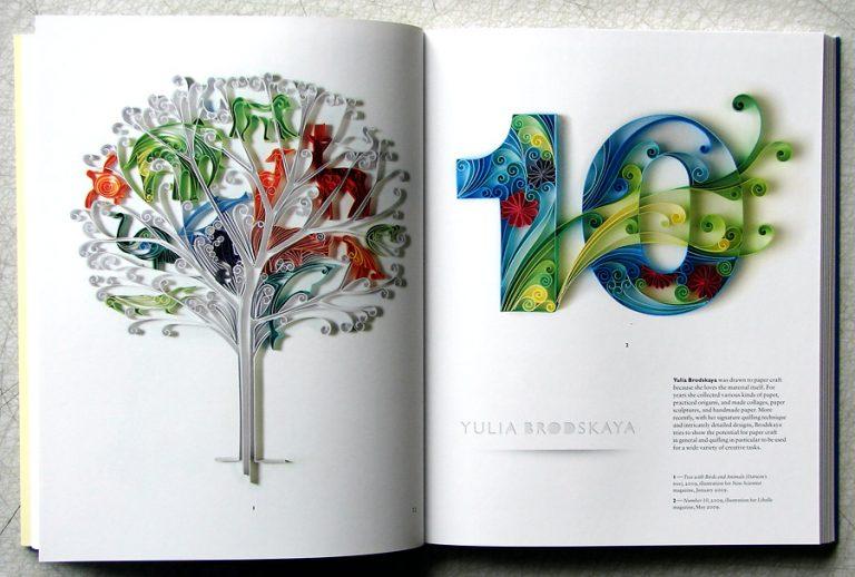 papperskonst av Yulia Brodskaya