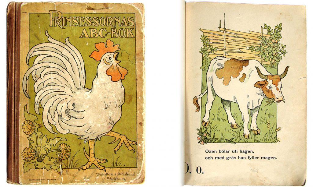 Vintage ABC-bok från 1903