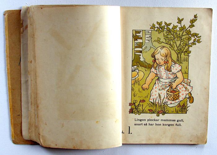 Illustrerad ABC-bok 1903 av Gunhild Facks