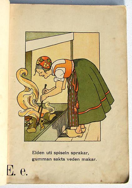 Illustration Gunhild Facks bokstaven E