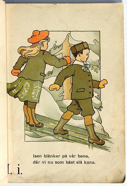 I som i isen, tecknat av Gunhild Facks 1903