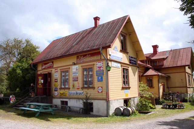 Country shop museum Dunbodi at Dalhem, Gotland, Sweden