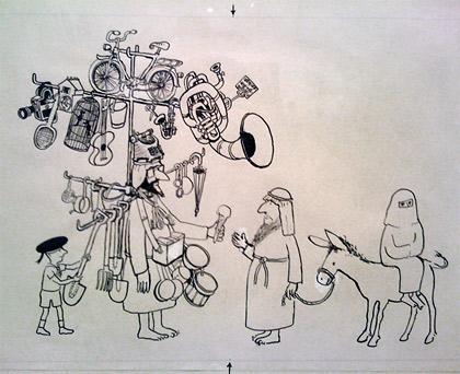 Dunkers kulturhus utställning 2012 om tecknaren Jan Lööf