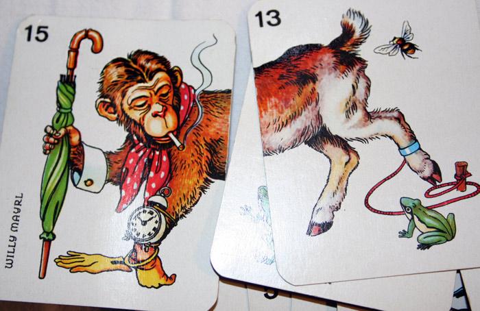 Djur-läggspelet för gamla och unga, Piatnik, Willy Mayer