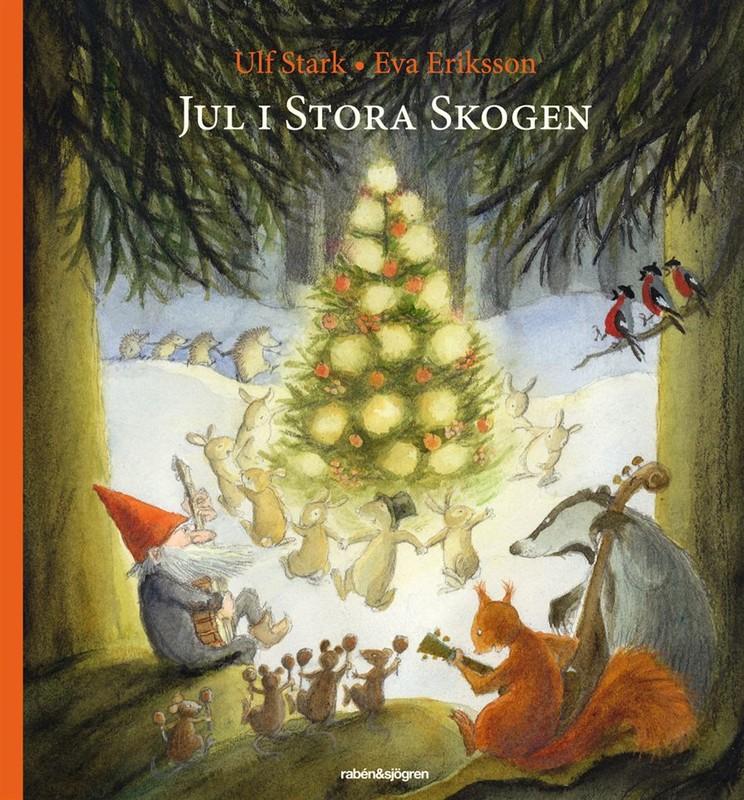 """Barnboken """"Jul i stora skogen"""""""
