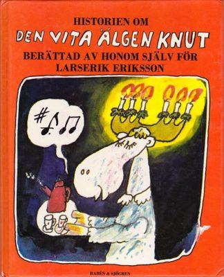 Omslag barnbok Den vita älgen Knut