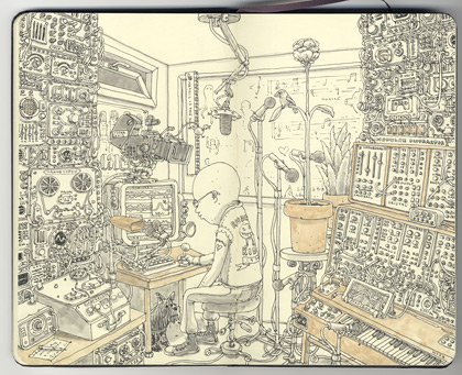 Illustratör Mattias Adolfsson, fantastik