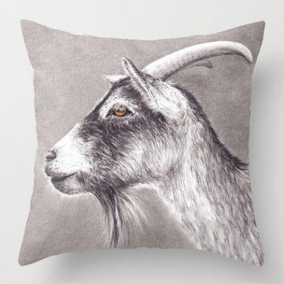 get-goat-kudde-pillow-case