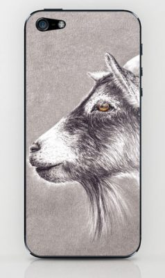 goat-get-mobile-skin-mobilskal-case-animal