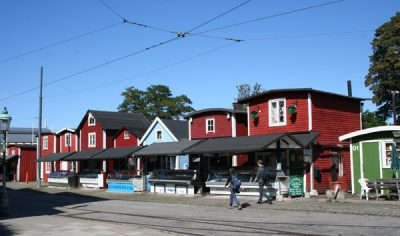 Fiskehoddorna i Malmö