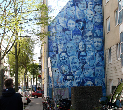 Hamburg mural art