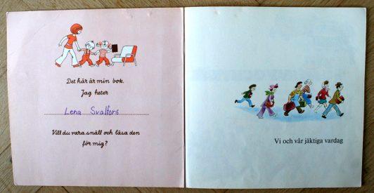älskad barnbok från 1973 Busy day busy people