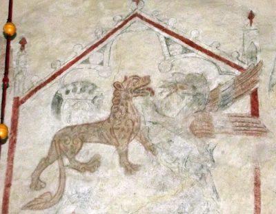 medeltid fabeldjur och monster