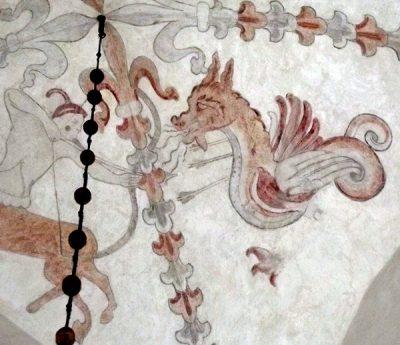 drake gotland kyrkomåleri takmålning