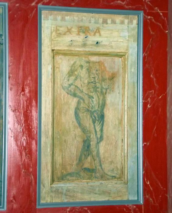 exira gotländsk kyrkokonst monster huvudlös man