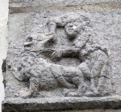 kyrkokonst relief sten medeltid