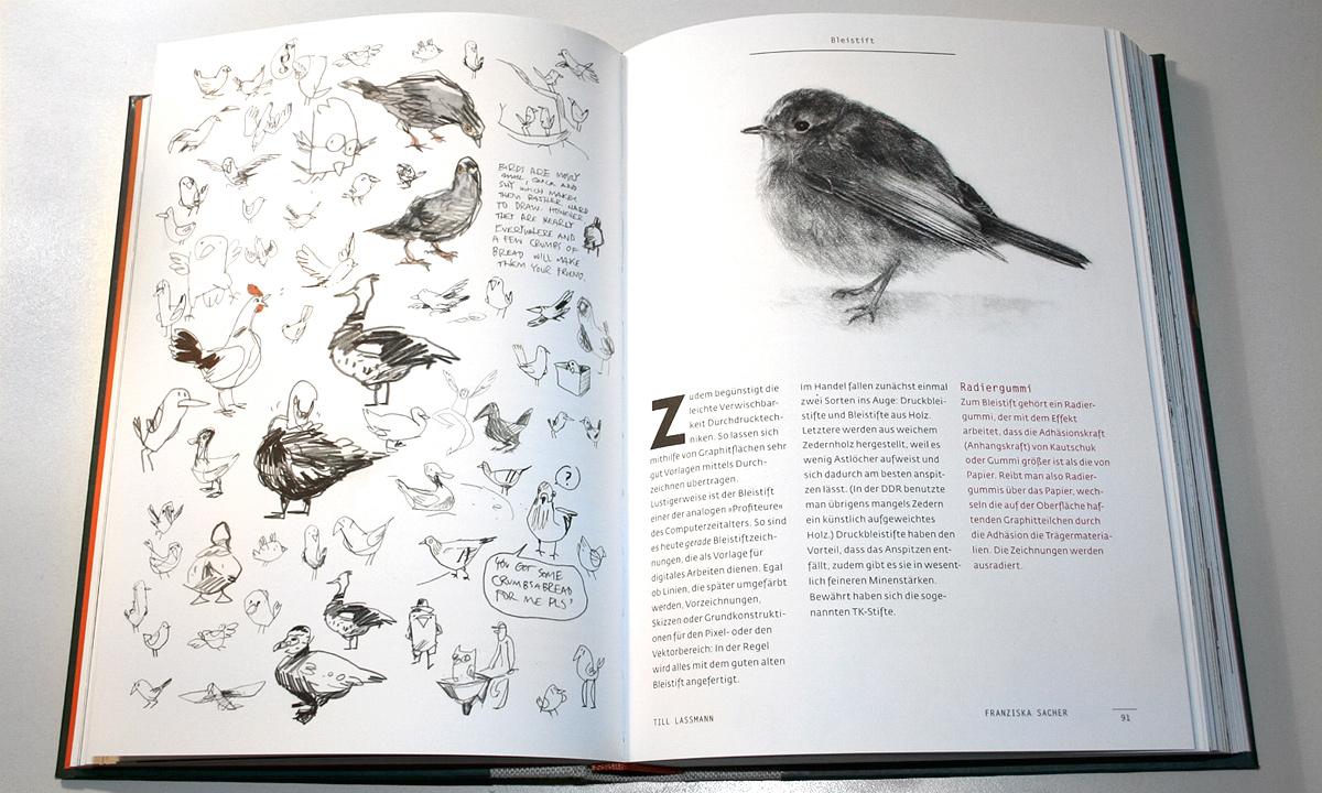 Handbok för tecknare på tyska