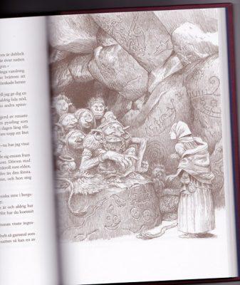 Alvaro Tapia illustration boken Svenska folksagor