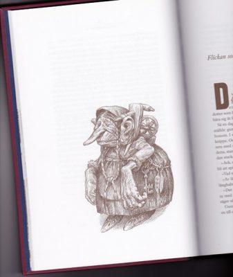Alvaro Tapia illustrationer bok Svenska folksagor
