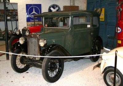 Egeskov antika bilar utställning