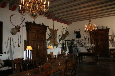 Egeskov interiör slottet