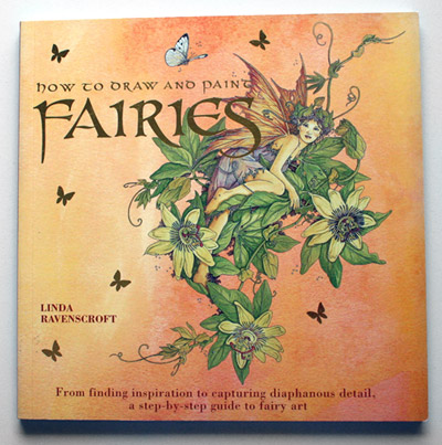 Ravenscroft book How to draw and paint fairies cover