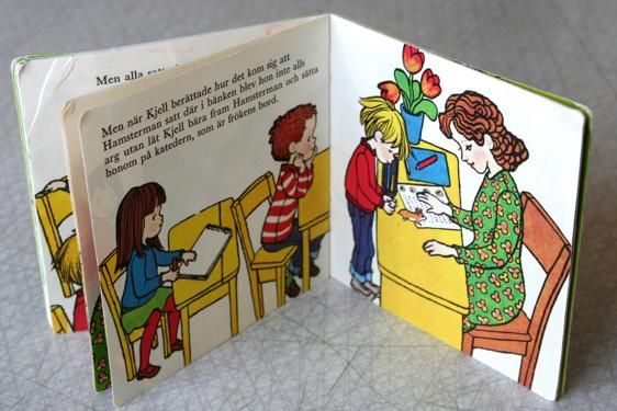 barnbok-70-tal-nostalgi-retro-ilon-wikland-ulf-schenkmanis-kjell-och-hans-hamster