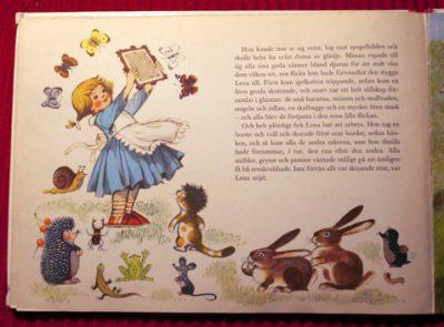 Lenora with the little mole Krtek and his friends-czeck-illustrator-Zdeněk Miler-swedish-childrens-book